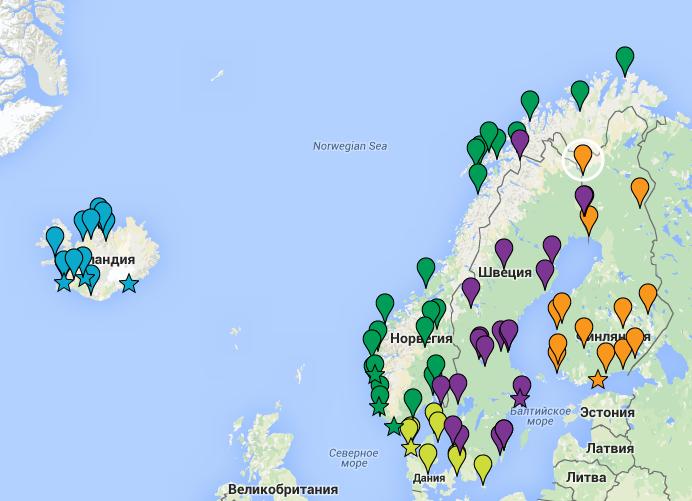 карта_вебкамеры_скандинавии_норвегия_швеция_дания_исландия_финляндия_lovenordic