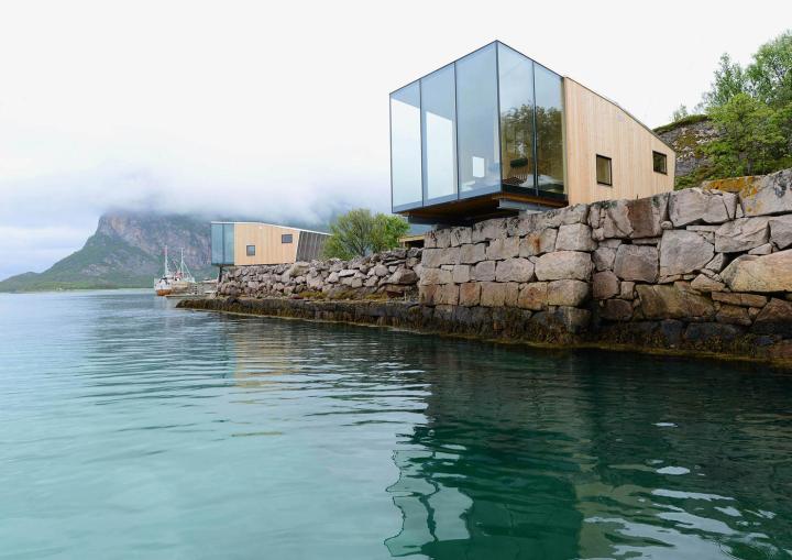 консольные домики Норвегия Snorre Stinessen